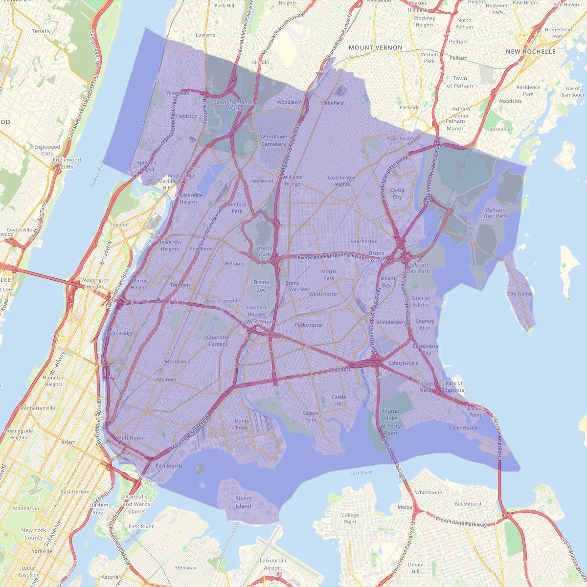 Zip Code Map Bronx.Adopt A Zip Code The Bronx